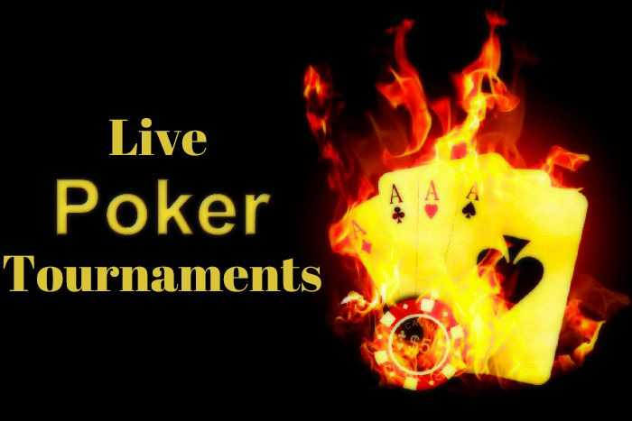 Live poker tournaments – rules and variations